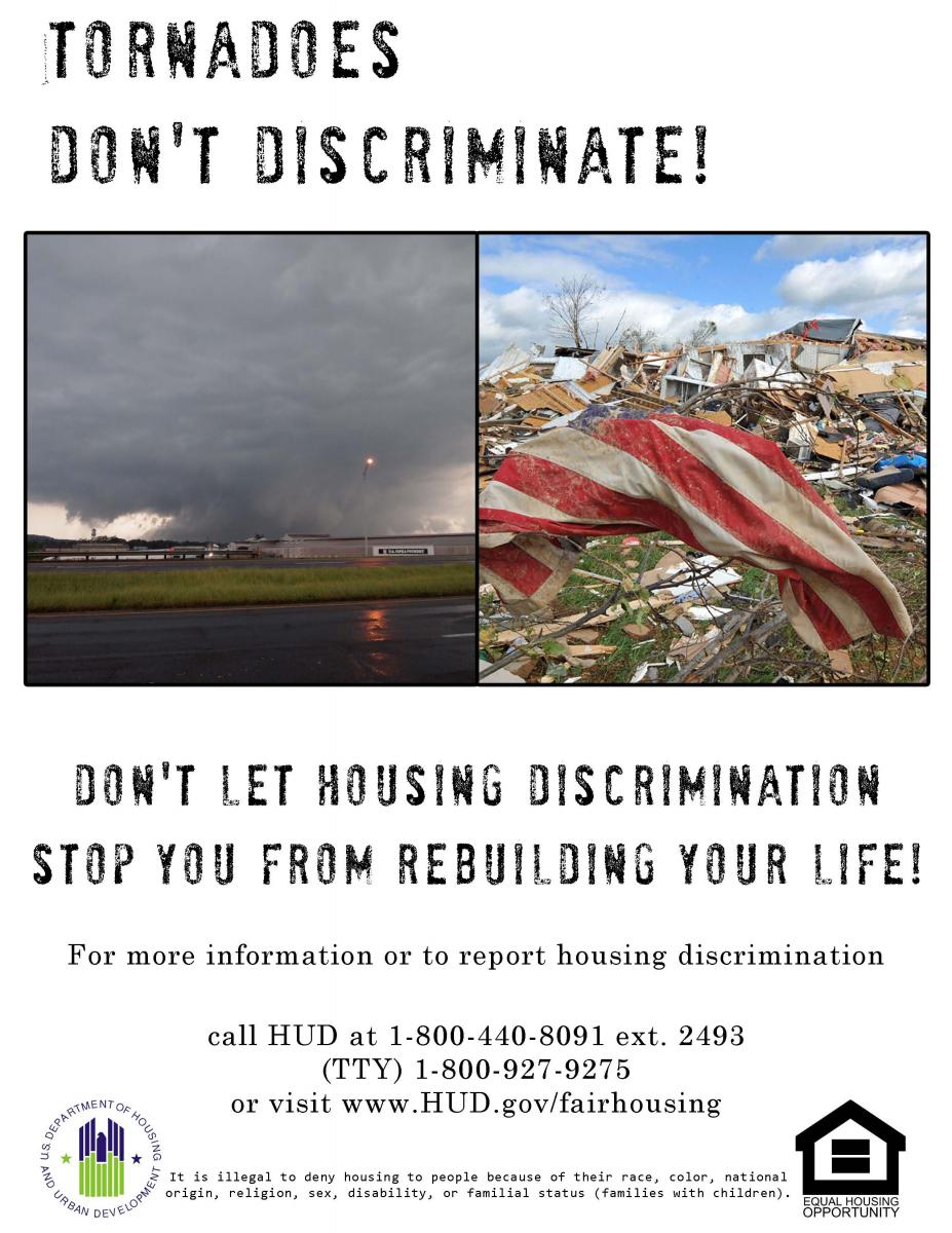 image from Flyer posted by U.S. Dept of Housing and Urban Development