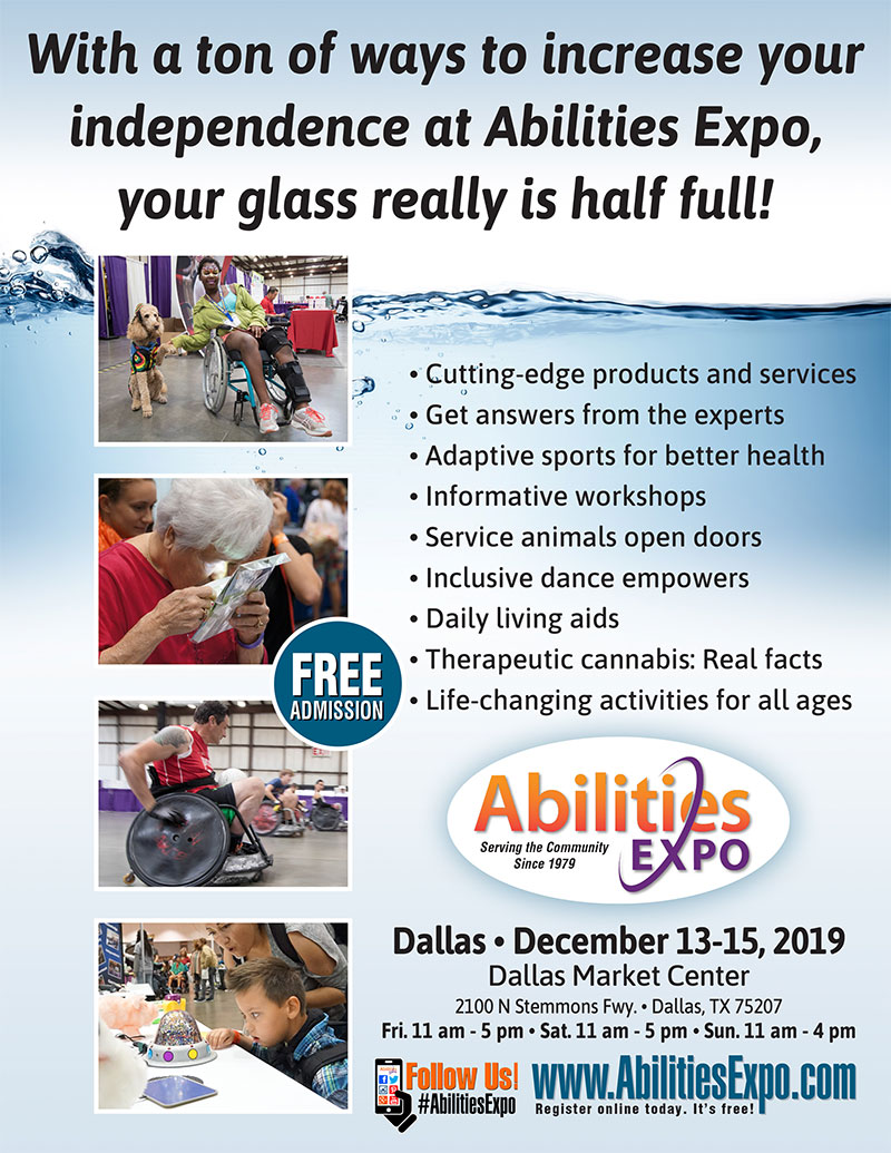 Add some exciting new activities to your life? Abilities Expo showcases a wide range of events that not only entertain, they also give you the opportunity to try new things, expand your interests and discover ways to be more involved in the local Dallas area.