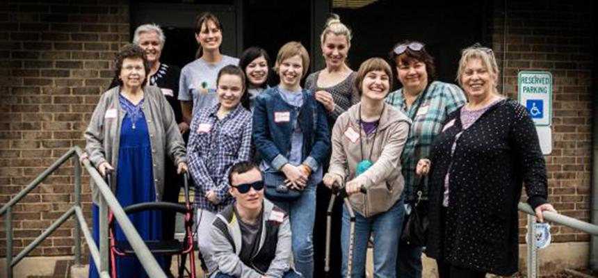 Russian Youth with Disabilities visit REACH of Dallas